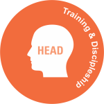 head Training and discipleship
