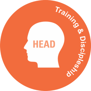 head Training and discipleship