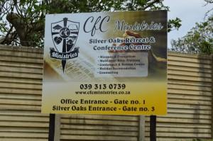 CFC Ministries signage